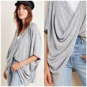 Anthropologie Saturday/Sunday Ami Wrap Kimono Top
